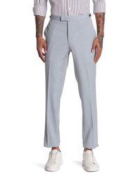 Reiss Exquisite Plain Wool Line Pants - Blue