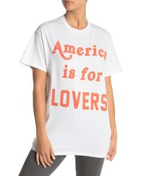 The Laundry Room - America Is For Lovers Tour T-shirt - Lyst