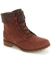 Teva - 'de La Vina' Waterproof Lace-up Boot (women) - Lyst