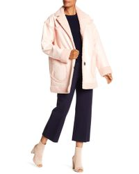 Opening Ceremony - Faux Shearling Reversible Coat - Lyst