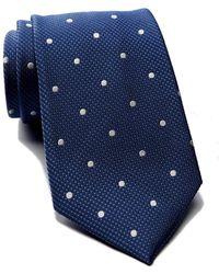 Tommy Hilfiger - Silk Contrast Dot Tie - Lyst