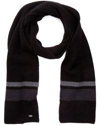 BOSS - Esar Wool Scarf - Lyst