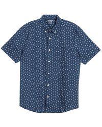 Joe Fresh Short Sleeve Shirt - Blue