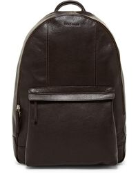 Cole Haan - Pebble Leather Backpack - Lyst