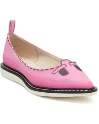 Marc Jacobs The Mouse Shoe Pointy Toe Loafer - Pink