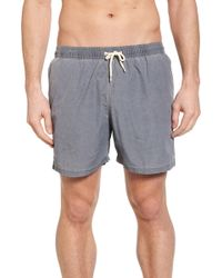 Barbour - Victor Swim Trunks - Lyst