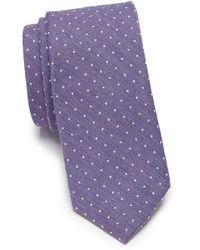 Original Penguin - Miller Dot Silk Blend Tie - Lyst