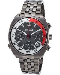 Bulova - Men's Snorkel Bracelet Watch, 44mm - Lyst