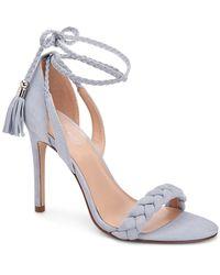 BCBGeneration Jessica Lace-up Dress Sandals - Blue