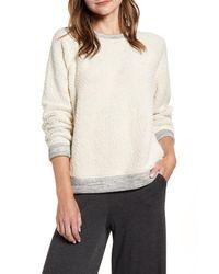 Lou & Grey Wavy Loop Sweatshirt - Natural