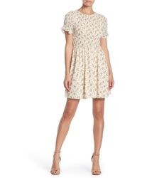 Sugarlips - Maree Floral Smocked Dress - Lyst