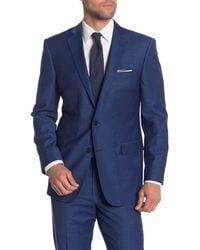 Brooks Brothers Navy Two Button Notch Lapel Regent Fit Suit Separates Jacket - Blue