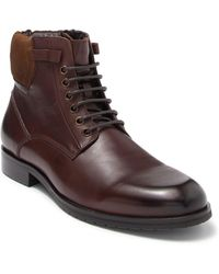 Zanzara Warnor Leather Boot - Brown