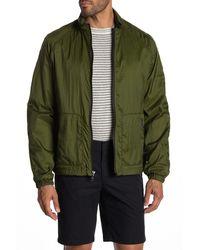 Vince Hooded Windbreaker Jacket - Green