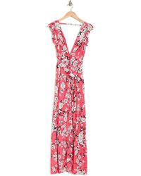 Maaji Dreamland Path Floral Maxi Dress - Pink
