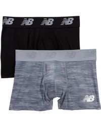 "New Balance - Performance Everyday 3"" Trunks - Pack Of 2 - Lyst"