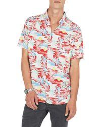 Barney Cools - Holiday Short Sleeve Shirt - Lyst