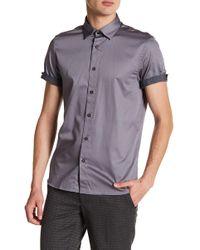 Ted Baker - Lyonn Modern Slim Fit Stretch Sateen Sport Shirt - Lyst