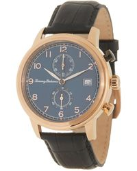 Tommy Bahama Men's Riviera Chronograph Leather Strap Watch - Multicolor