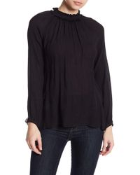 Brochu Walker - Eli Shirred Silk Blouse - Lyst