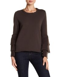 NYTT - Brooklyn Tiered Bell Sleeve Sweater - Lyst