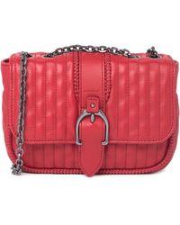 Longchamp Quilted Chain Strap Shoulder Bag In Red At Nordstrom Rack