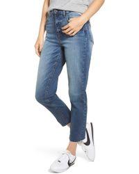 BP. High Waist Mom Jeans - Blue