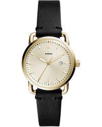 Fossil - Women's The Commuter Analog Quartz Watch, 34mm - Lyst