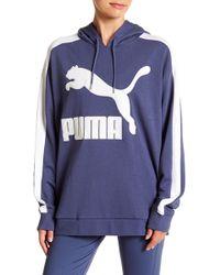 PUMA - Classic Logo Hoodie - Lyst