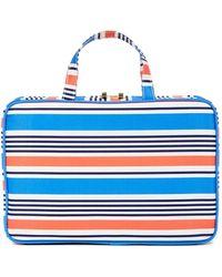 Kestrel Striped Weekend Organizer Bag - Multi - Blue