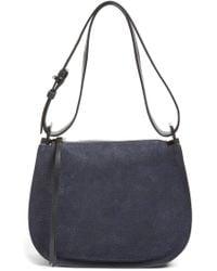 AllSaints Mini Echo Calfskin Suede & Leather Hobo - Multicolour