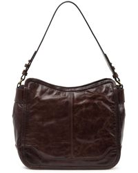 Frye Mel Leather Hobo Bag - Brown
