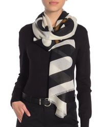 Love Moschino - Moschino Bear Cashmere Blend Scarf - Lyst