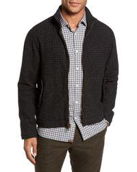 Billy Reid - Neil Wool Blend Zip Front Jacket - Lyst