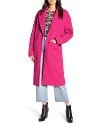 Rebecca Minkoff Lucia Coat - Pink