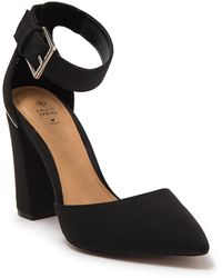 Call It Spring Cauta Ankle Strap Pump - Black