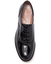 RED Valentino Ballerinas Patent Leather Oxford - Black