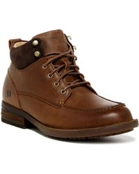 Born Hunter Moc Lace-up Boot - Brown