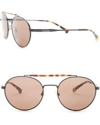 Brooks Brothers - Men's Round Sunglasses - Lyst