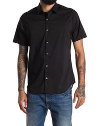 JEFF Solid Regular Fit Sport Shirt - Black