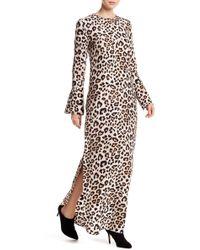 Equipment - Niko Leopard Silk Maxi Dress - Lyst