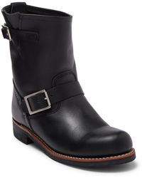 Red Wing Short Engineer Boot - Black