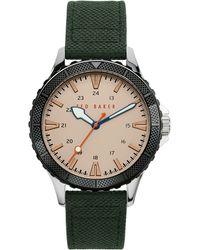 Ted Baker Regent Strap Watch - Metallic