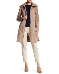 Cole Haan - Packable Raincoat - Lyst