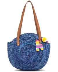 Lucky Brand - Baria Woven Tote - Lyst