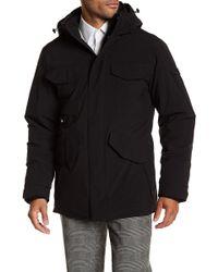 Tumi - Detachable Hood Heavy Coat - Lyst