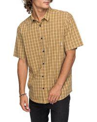 Quiksilver - Moon Rythm Short Sleeve Shirt - Lyst