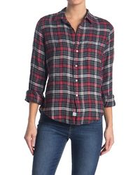 Frank & Eileen Barry Plaid Classic Tailored Fit Shirt