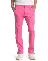Valentino Side Stripe Track Pants - Pink