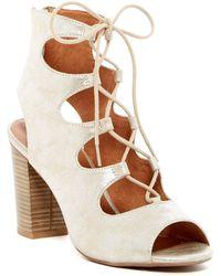 BC Footwear - Vivacious Lace-up Sandal - Lyst